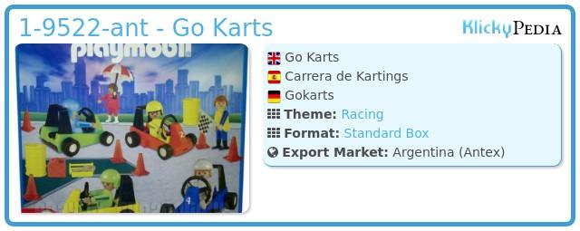 Playmobil 1-9522-ant - Go Karts