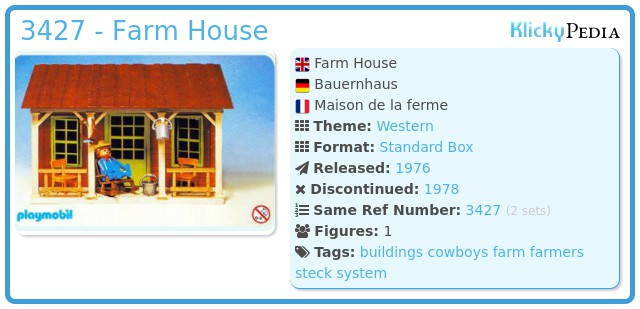 Playmobil 3427 - Farm House