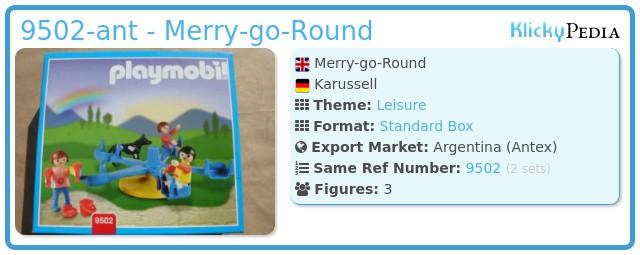 Playmobil 9502-ant - Merry-go-Round