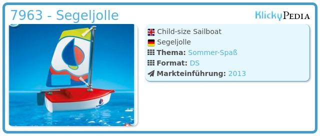Playmobil 7963 - Segeljolle