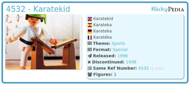 Playmobil 4532 - Karatekid