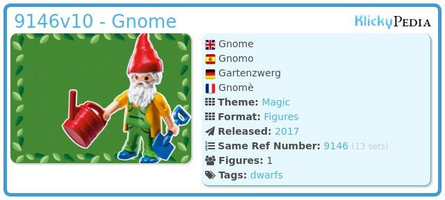 Playmobil 9146v10 - Gnome