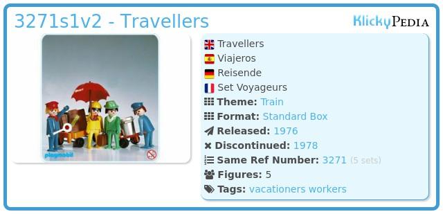 Playmobil 3271v2 - Travellers