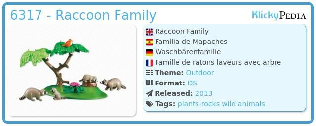 Playmobil 6317 - Raccoon Family