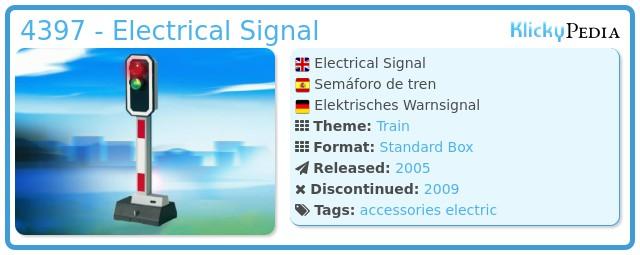 Playmobil 4397 - Electrical Signal