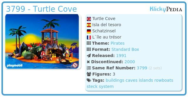 Playmobil 3799 - Treasure island