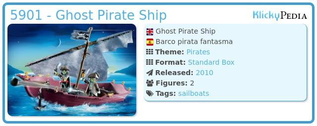 Playmobil 5901 - Ghost Pirate Ship