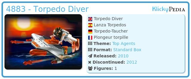 Playmobil 4883 - Torpedo Diver