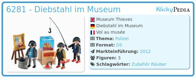 Playmobil 6281 - Diebstahl im Museum