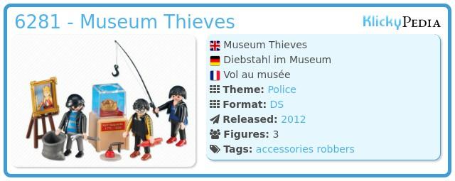 Playmobil 6281 - Museum Thieves