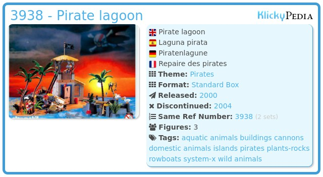 Playmobil 3938 - Pirate lagoon