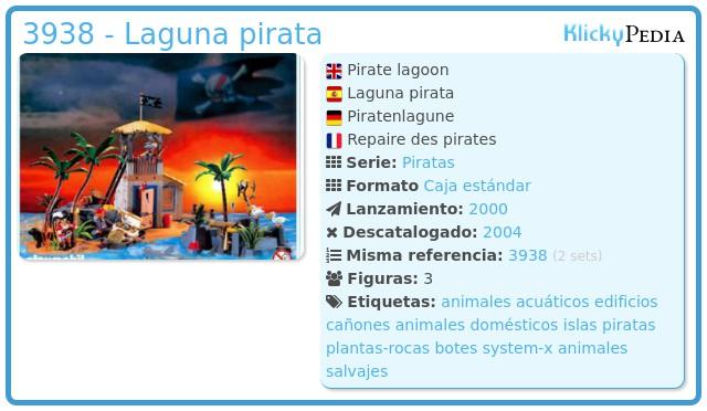 Playmobil 3938 - Laguna pirata