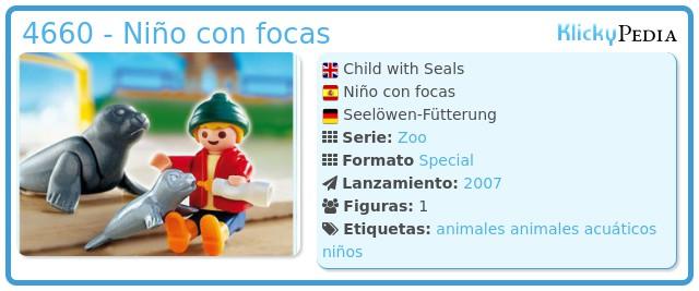Playmobil 4660 - Niño con focas