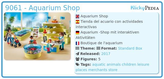 Playmobil 9061 - Aquarium Shop