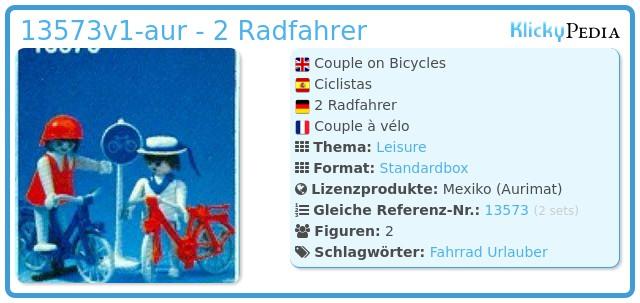 Playmobil 13573v1-aur - 2 Radfahrer