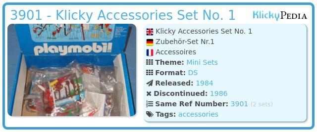 Playmobil 3901 - Klicky Accessories Set No. 1