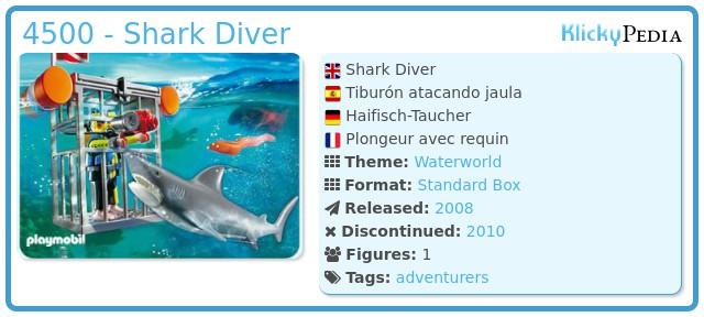 Playmobil 4500 - Shark Diver