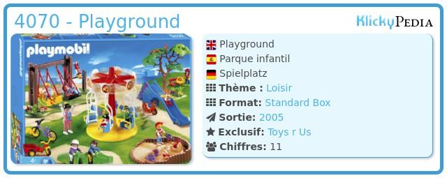 Playmobil 4070 - Playground
