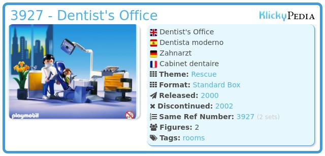 Playmobil 3927 - Dentist's Office