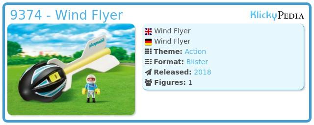 Playmobil 9374 - Wind Flyer