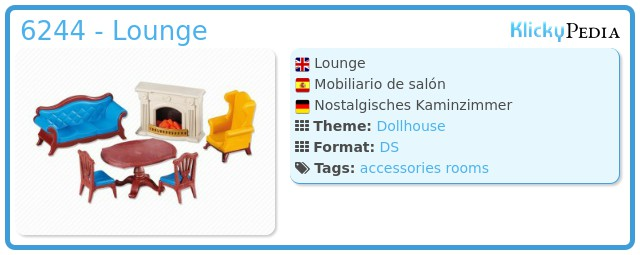 Playmobil 6244 - Lounge