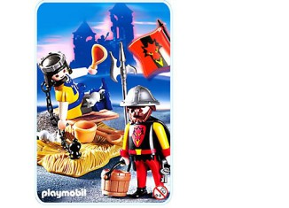 Playmobil - 3328s2 - Captive Prisoner and Guard