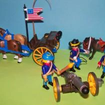 Playmobil - Soldados Americanos con Cañon