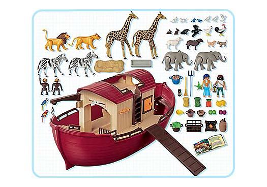 Playmobil 3255s3 - Noah`s Ark - Back