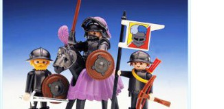Playmobil - 3329 - Knight And Squires