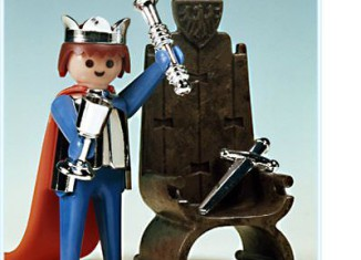 Playmobil - 3331 - King And Throne