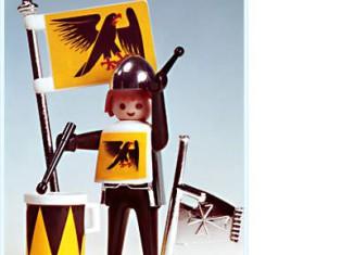 Playmobil - 3332 - Black & Yellow Herald
