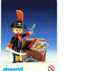 Playmobil - 3385 - pirate / treasure chest