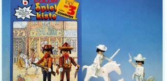 Playmobil - 3623 - Toy-box No. 3 - Cowboys