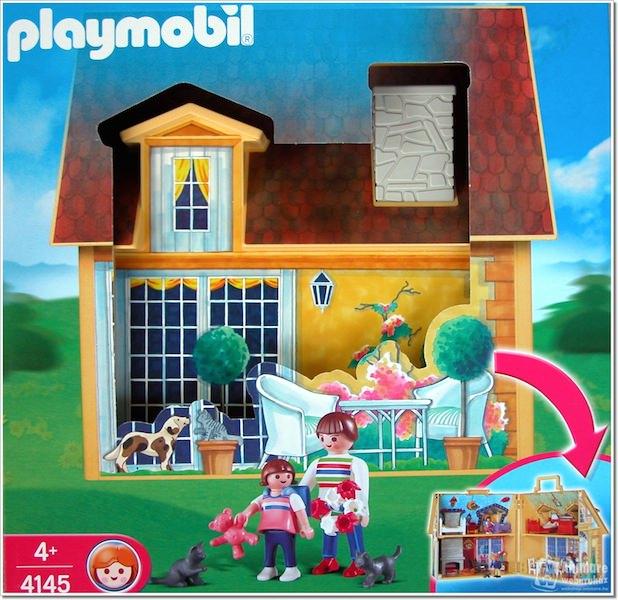 Playmobil 4145 - My Take Along Doll House - Box