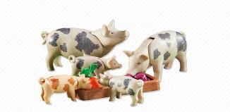 Playmobil - 6355 - Pig family