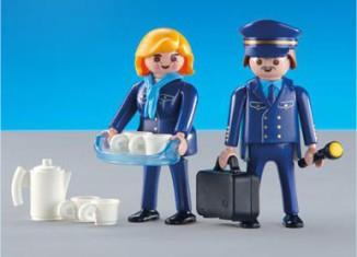 "Playmobil - 3100 - Pilot & Stewardess ""Lufthansa"""