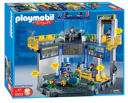 Playmobil 3353-usa - Airport Terminal - Box