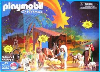 Playmobil - 3367-usa - Children's Nativity Set