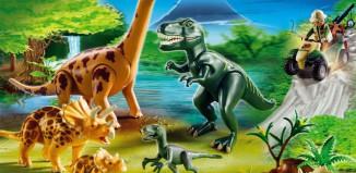 Playmobil - 5014-ger - Big Dinosaurs World