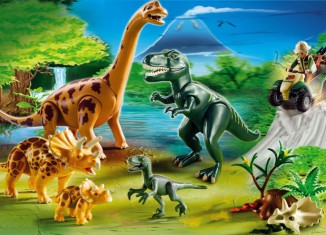 Playmobil - 5014-ger - Big Dinosaurs World
