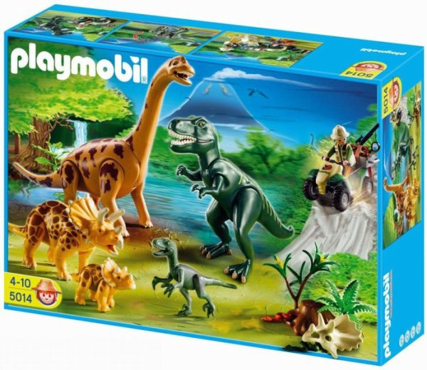 Playmobil 5014-ger - Big Dinosaurs World - Boîte