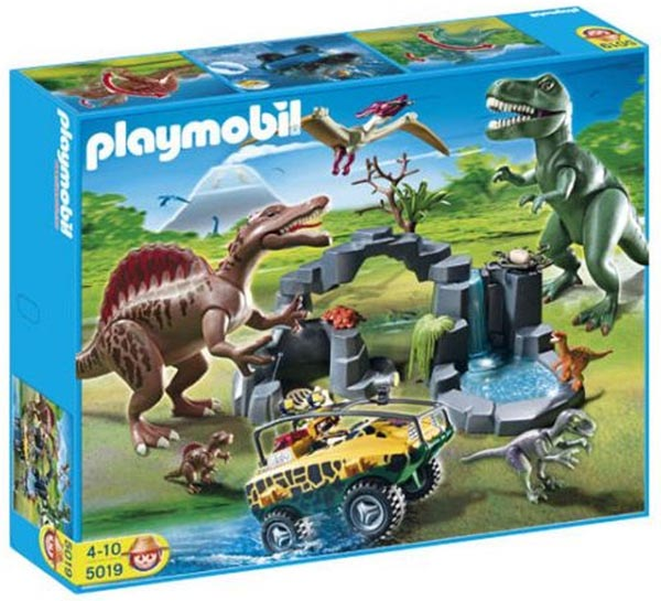 Playmobil 5019-ger - Dino Expedition with Amphibious Vehicle - Box