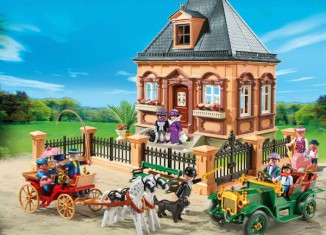 Playmobil - 5955-usa - Special FAO Edition Victorian City Life