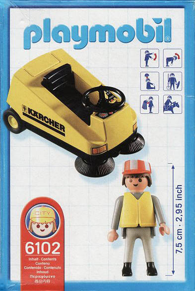 Playmobil 6102 - Kärcher Promotional - Back