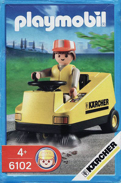 Playmobil 6102 - Kärcher Promotional - Box