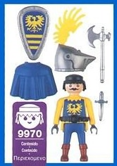 Playmobil 9970-esp - Knight - Back