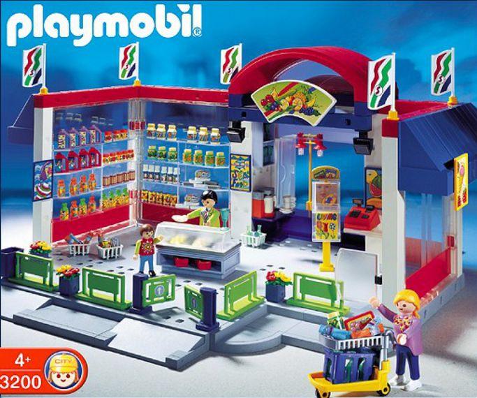 Playmobil 3200s2 - Supermarket - Box