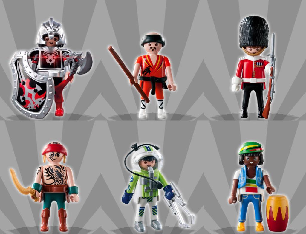 Playmobil 5243 - Figures Series 3 - Boys - Box