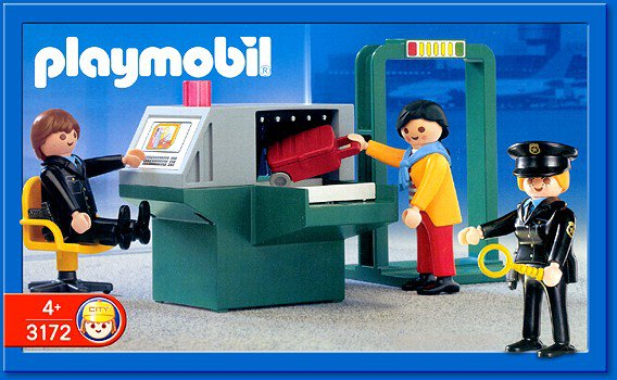 Playmobil 5717 - Security Check-in - Box