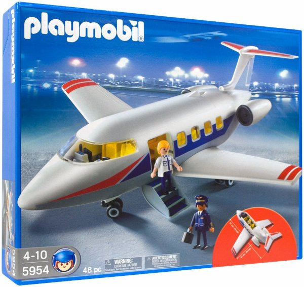 Playmobil 5954 - Jet Plane - Box
